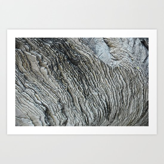 Rock Formation Art Print