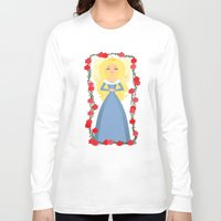 sleeping beauty Long Sleeve T-shirts featuring Sleeping Beauty by Sara Showalter