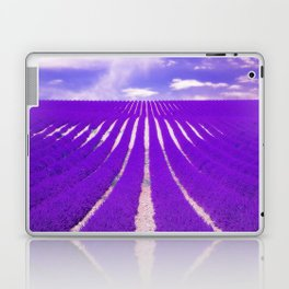 LAVENDAR FIELD Laptop & iPad Skin