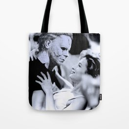 MICHAEL MYERS IN DIRTY DANCING Tote Bag