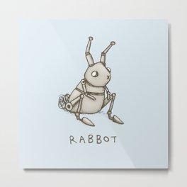 Rabbot Metal Print