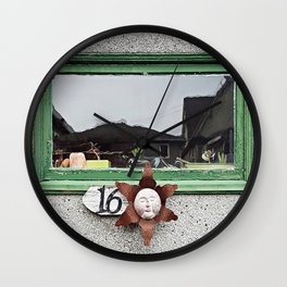 16 Under the Sun Wall Clock