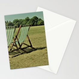 Deck Chairs Stationery Cards