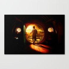 Bilbo's Journey - Painting Style Canvas Print