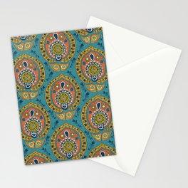 safa blue Stationery Cards