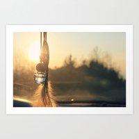 """""""Il sole, d'Inverno"""" Art Print"""