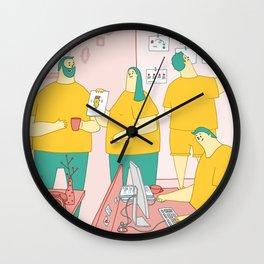 Superdoodle Wall Clock