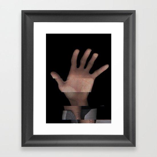 Hands On #1 (Series) Framed Art Print