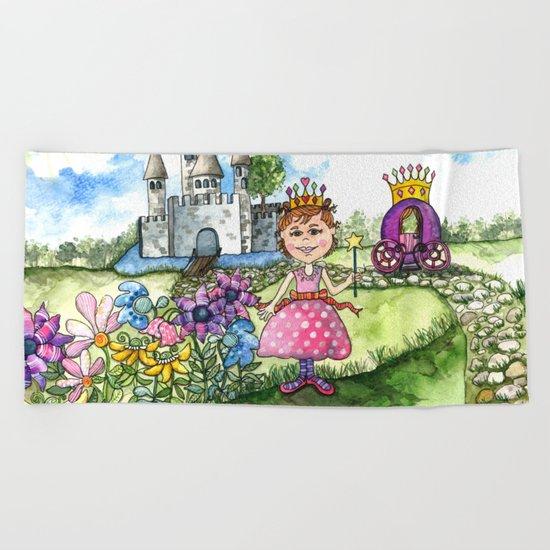 The Polka Dot Princess Beach Towel