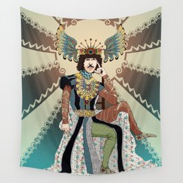 Henry Paget staring contest Wall Tapestry