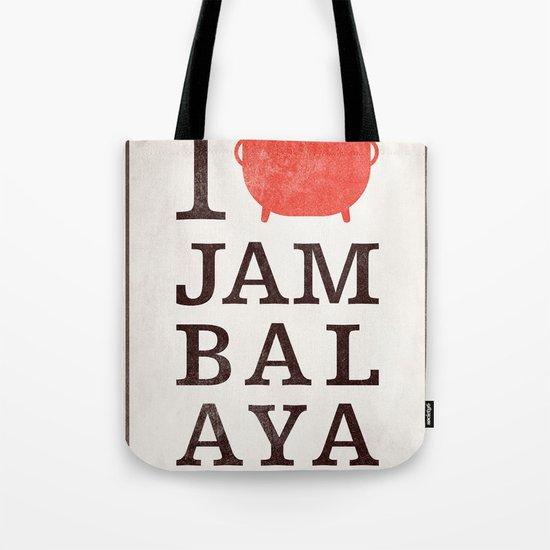 I Heart Jambalaya Tote Bag