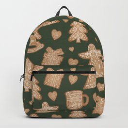 Ginger christmas cookie Backpack