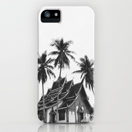 palms in Laos iPhone Case