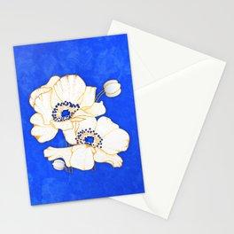 Ultramarine Blue :: Anemones Stationery Cards