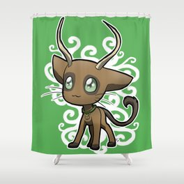 Zodiac Cats - Taurus Shower Curtain