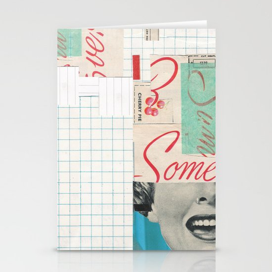 Ew Some Blue Stationery Cards