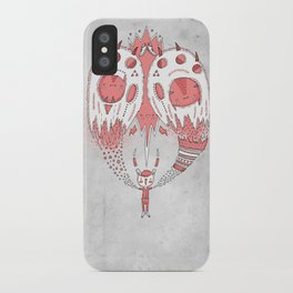 With open arms iPhone Case