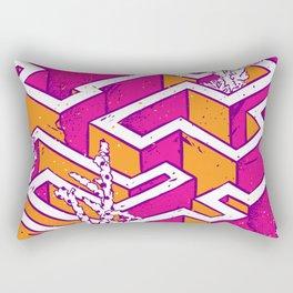 In a labyrinth Rectangular Pillow