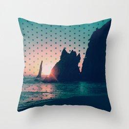 Sunrise Rock Throw Pillow