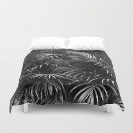 Palm Leaves Art Tropical Plants Rainforest Photography Jungle Duvet Cover