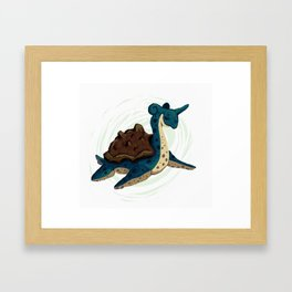 Lapras Framed Art Print