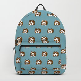 Boston Terrier Loaf - Red Brown Boston Dog Backpack