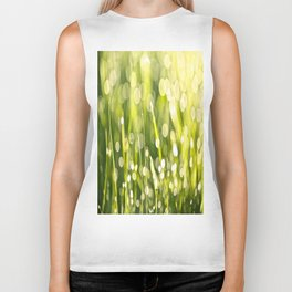 One Summer Morning Biker Tank