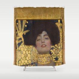 Gustav Klimt - Judith and the Head of Holofernes Shower Curtain