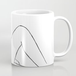 line art 2 Coffee Mug