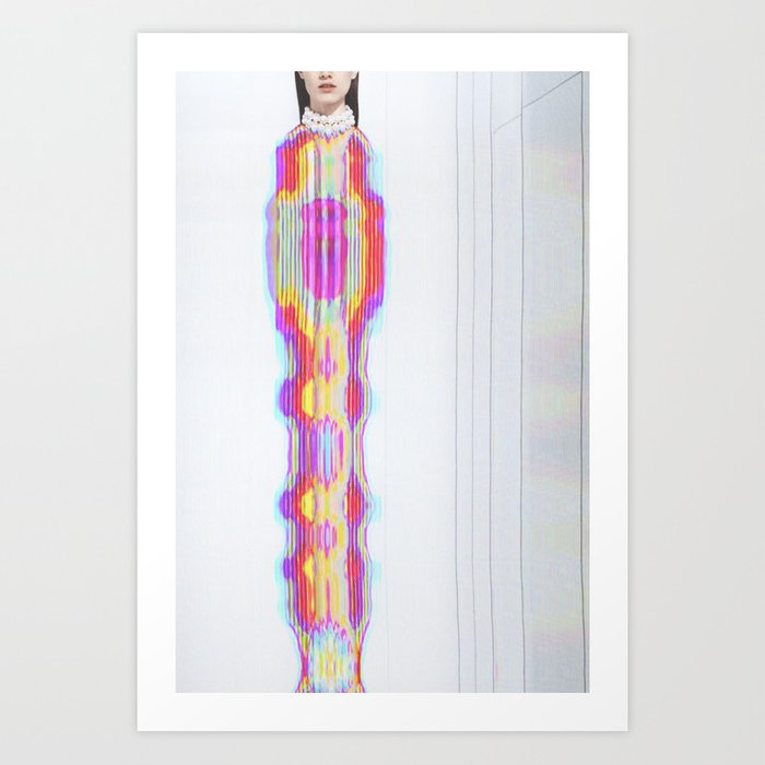 Vogue #3 Art Print