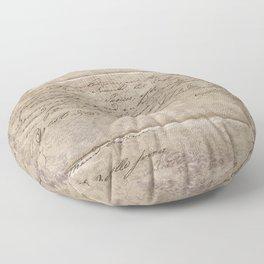 July 1820 Floor Pillow