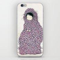 musa iPhone & iPod Skins featuring Musa by Belén Segarra