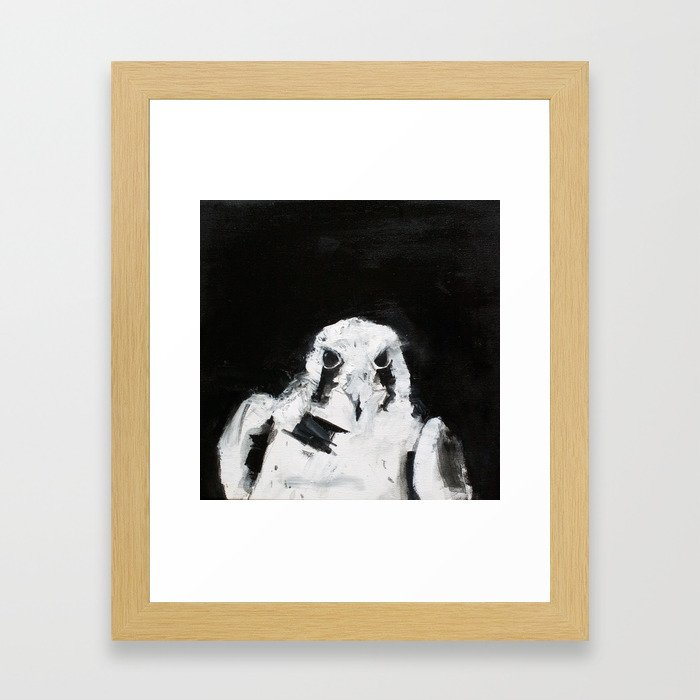 Concentration Framed Art Print