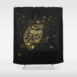 a Illusionist Shower Curtain
