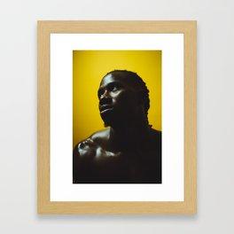Negro Framed Art Print