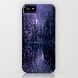 A Cold Winter's Night iPhone Case