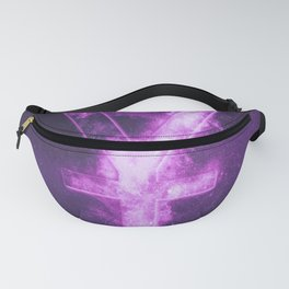 Japanese yen. Japan Yen. Monetary currency symbol. Abstract night sky background. Fanny Pack