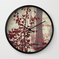 silent Wall Clocks featuring Silent Days by Dirk Wuestenhagen Imagery