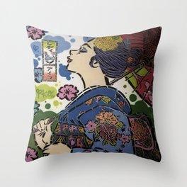Murale Throw Pillow