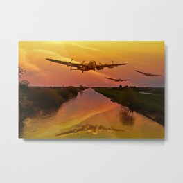 Follow Me Boys! Metal Print