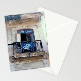 Seed Of Entrepreneurs Never Left Havana Cuba Stationery Cards