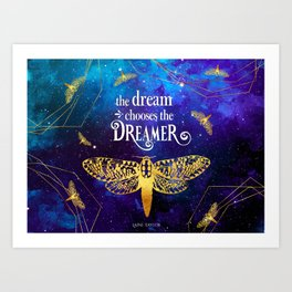 Strange The Dreamer - Laini Taylor Art Print