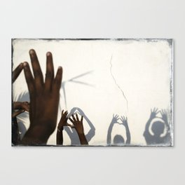Hands of India Canvas Print