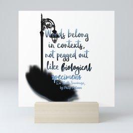 Words   La Belle Sauvage Mini Art Print