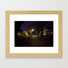 Ferrin Place, Mt. Clemens MI Framed Art Print