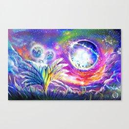 Bio Space Canvas Print