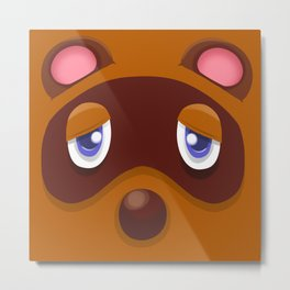 Animal Crossing Tom Nook Metal Print