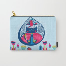 HUNGRY CAT & LITTLE BIRDIE Carry-All Pouch