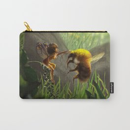 Faerie and Bee Carry-All Pouch
