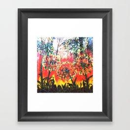 Layered Framed Art Print